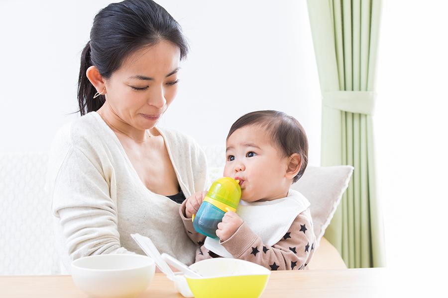乳児 お茶